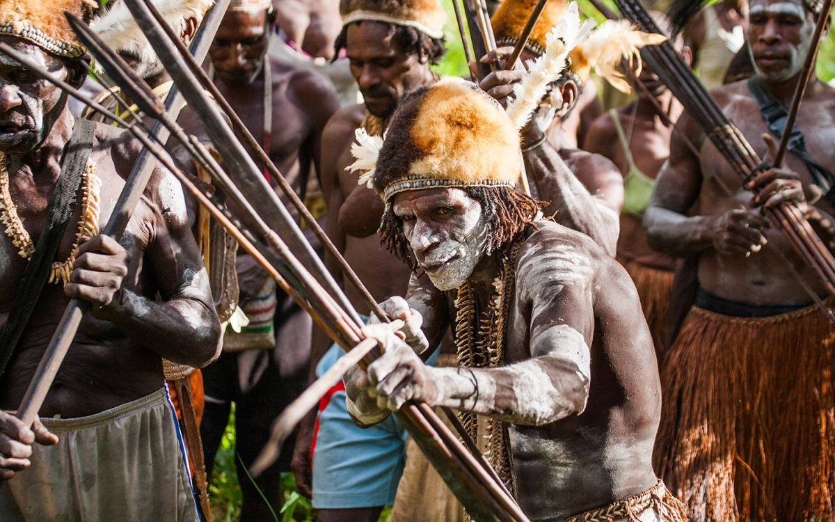 It is believed that the Otsjanep tribesmen speared and killed Michael, cutting off his head, and cleaved his skull to eat his brain.