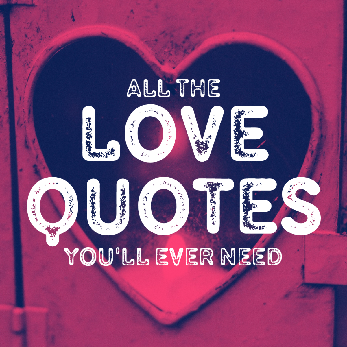 Read hundreds of quotes about love, from the romantic to the cynical.