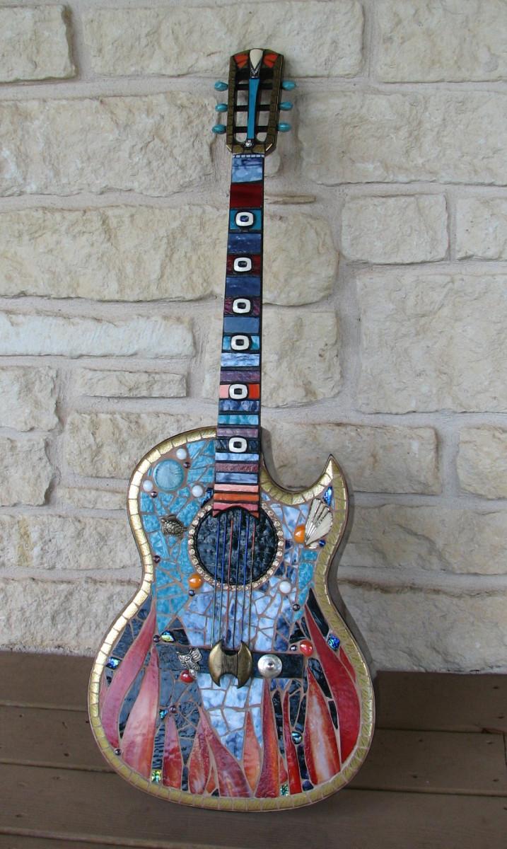 Mosaic Guitar:  Conquistador