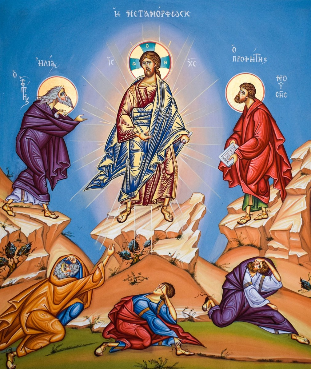 Transfiguration of Jesus.