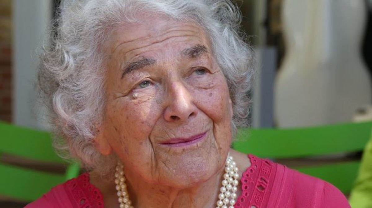 Judith Kerr OBE (1923-2019) the author and illustrator of The Tiger Who Came To Tea.