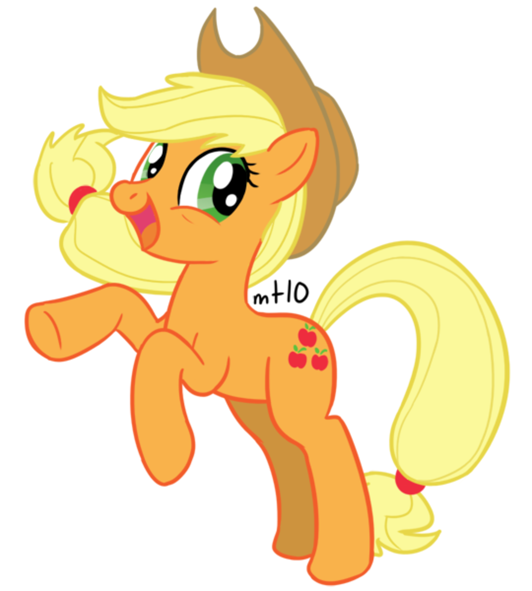 Well howdy there! Im Applejack and for some reason I have a fan page. Normally im too busy at the farm doing choirs to learn this internet thing but Twilight just had dragged me down to the local library and have me make one up. Come check it out!