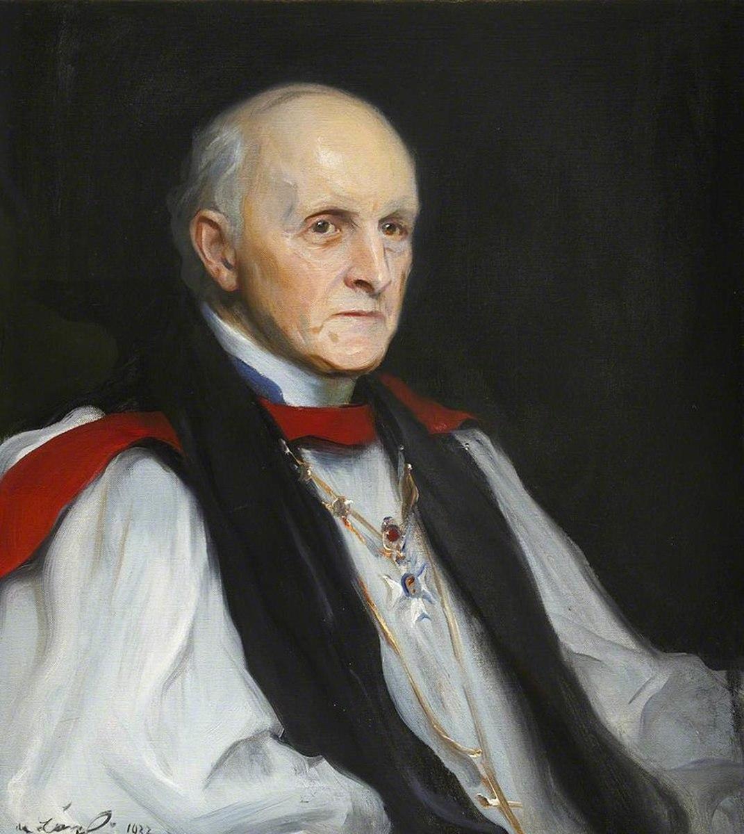 Philip de László's portrait of the Archbishop of Canterbury Cosmo Gordon Lang.