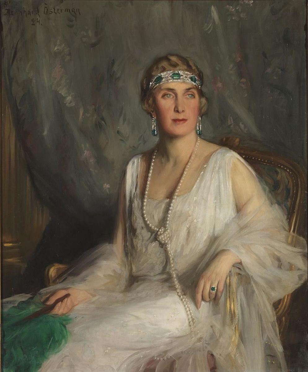 Queen Victoria Eugenie of Spain by Philip de László.