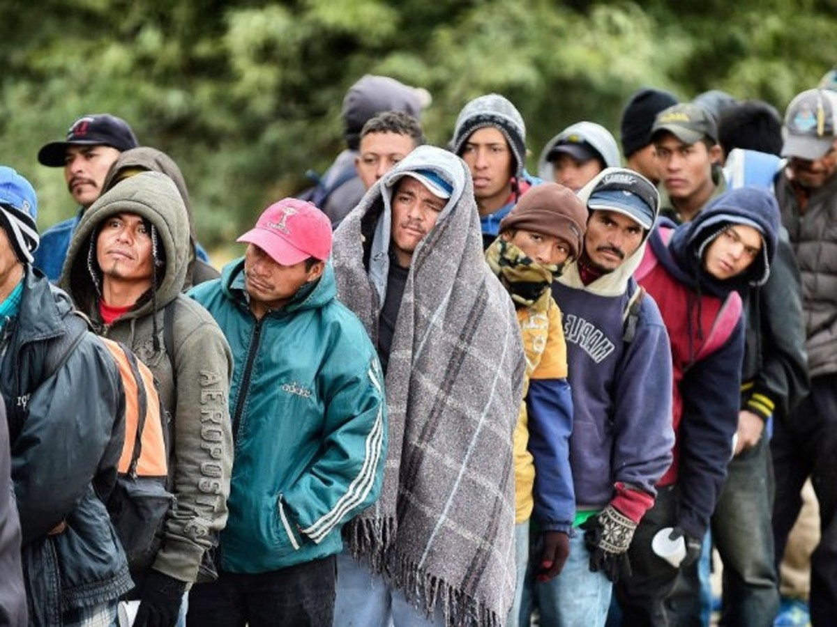 Most illegal aliens are young military-age men
