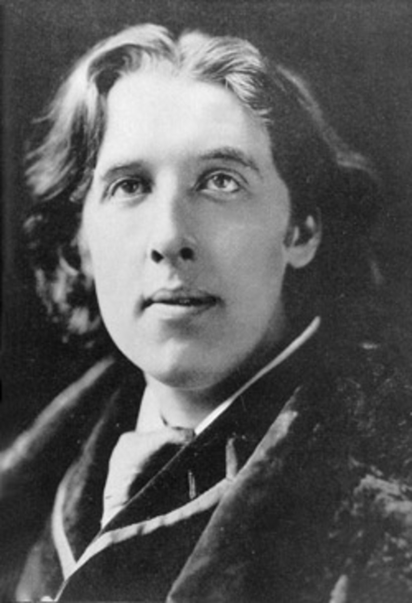 Oscar Wilde not giving a flying fig