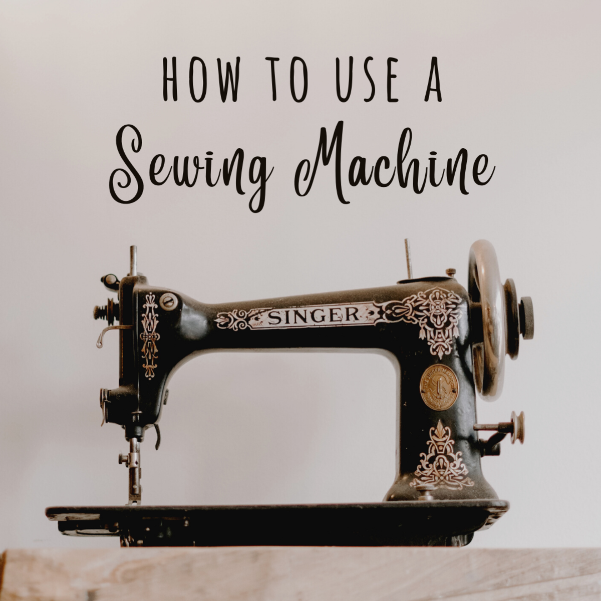 Learn how to prep and use a sewing machine