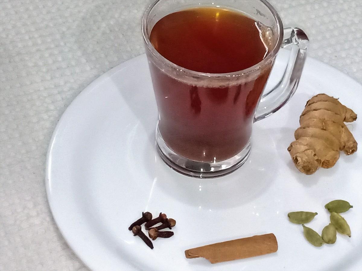 Sulaimani chai tea of South India