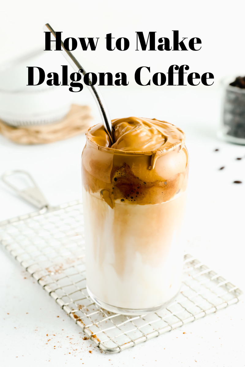 For a coffee lover, Dalgona coffee is a must-try.