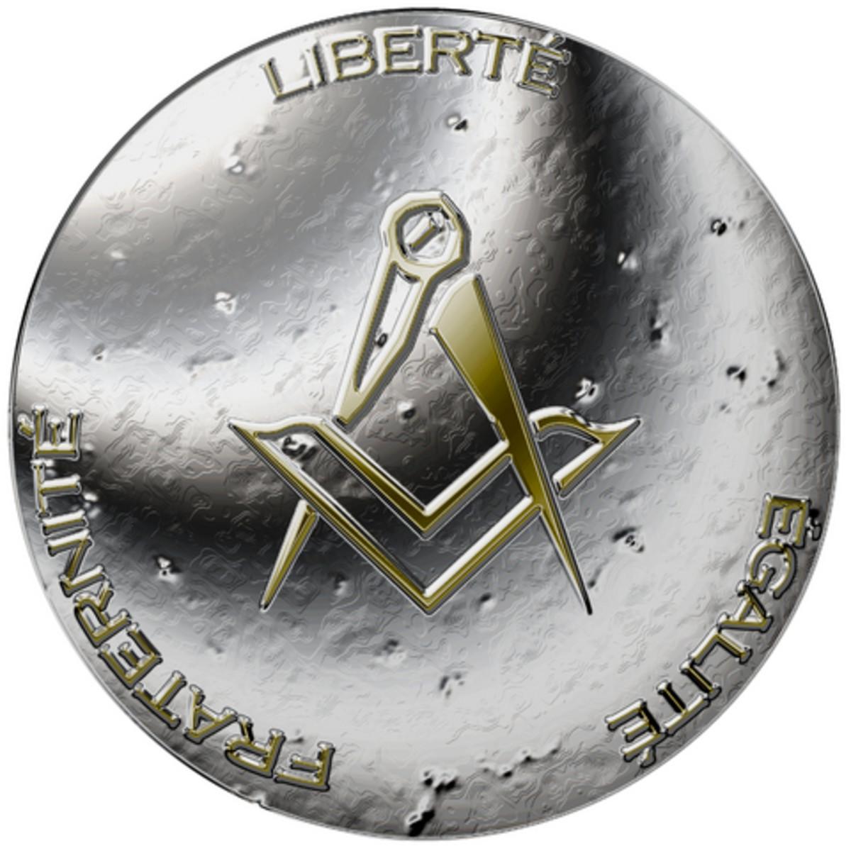 Mason coin.  Photo by Fotografiker@Dreamstime.com
