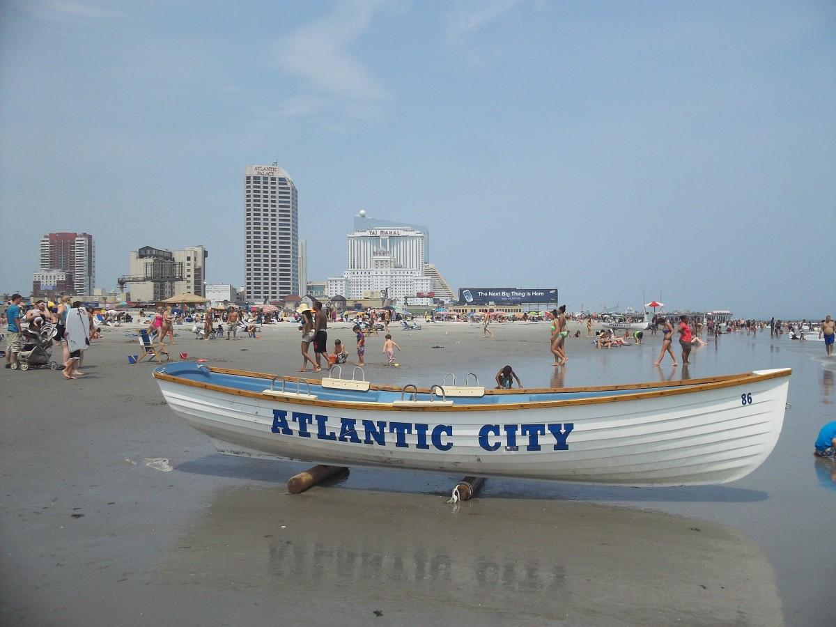 Atlantic City Beach - July 2012