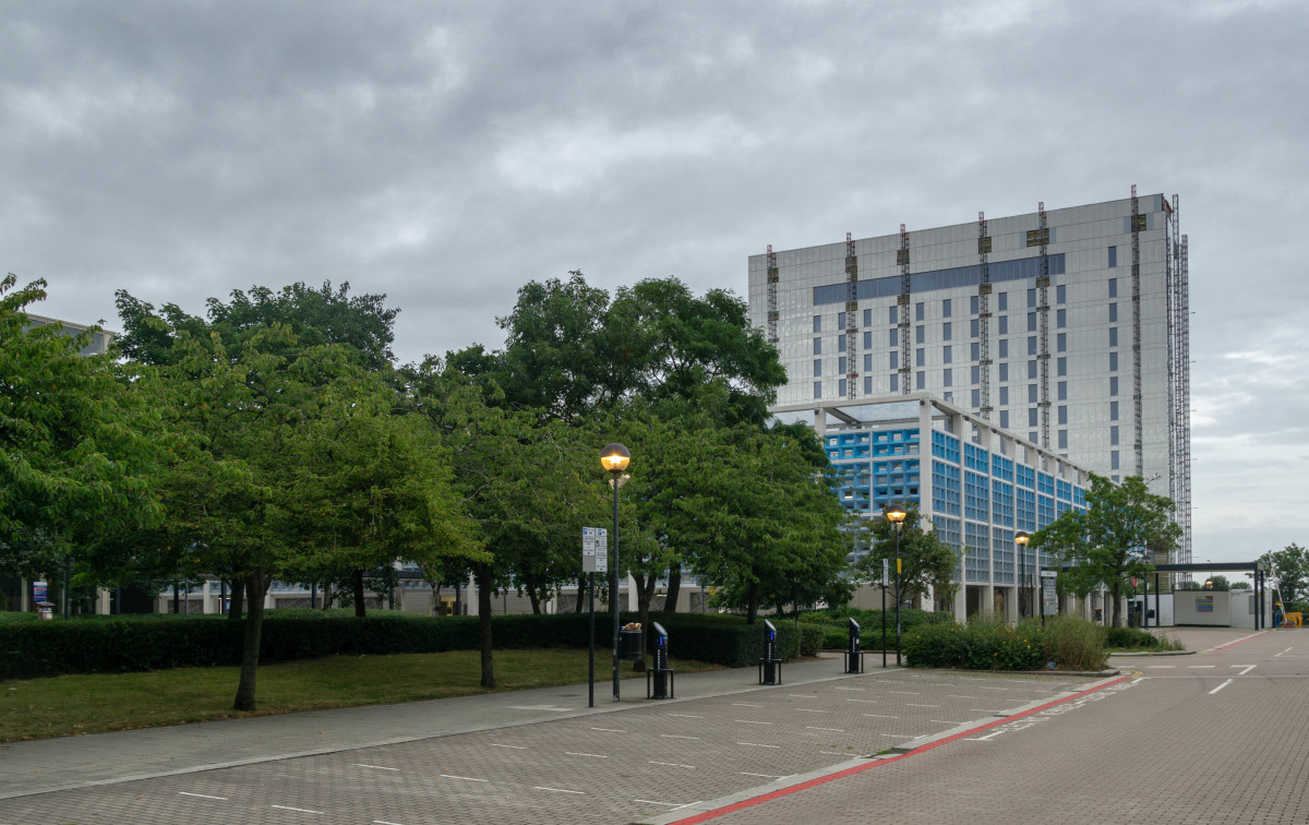 New developments under construction at Central:MK