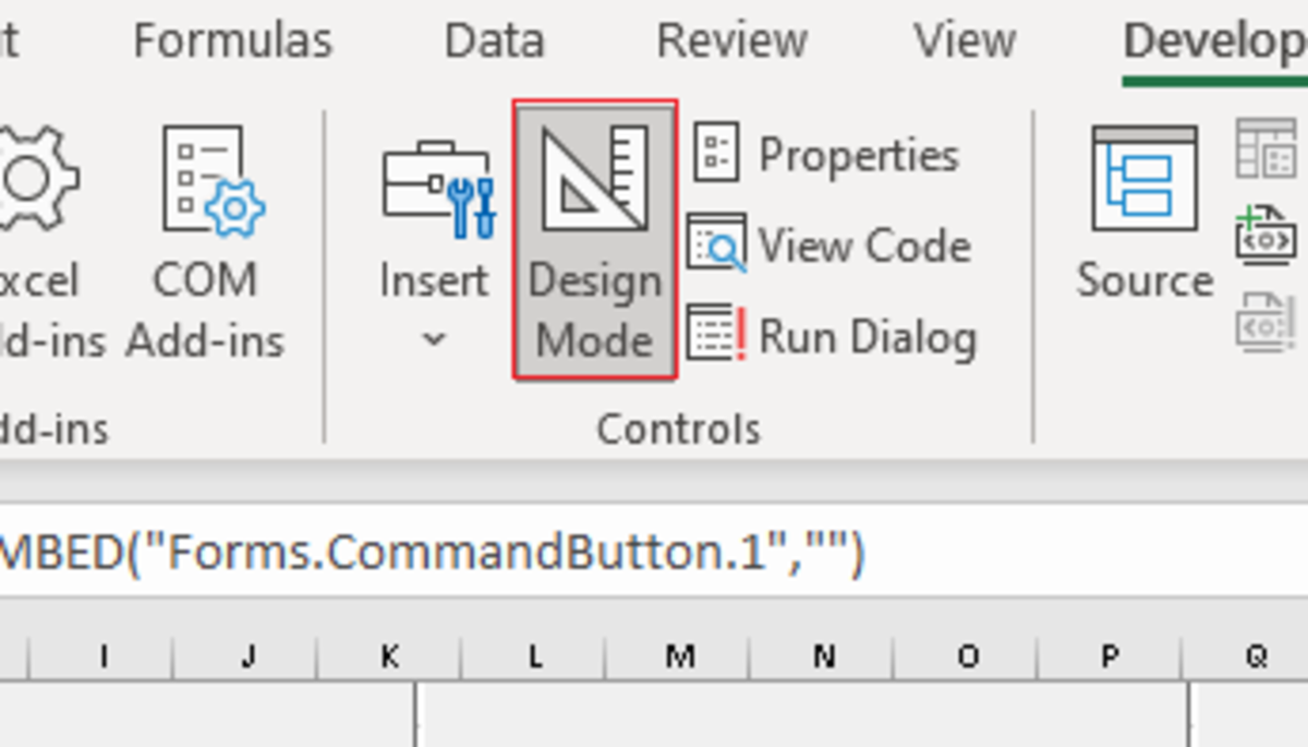 To test or edit command buttons you must toggle in and out of design view.