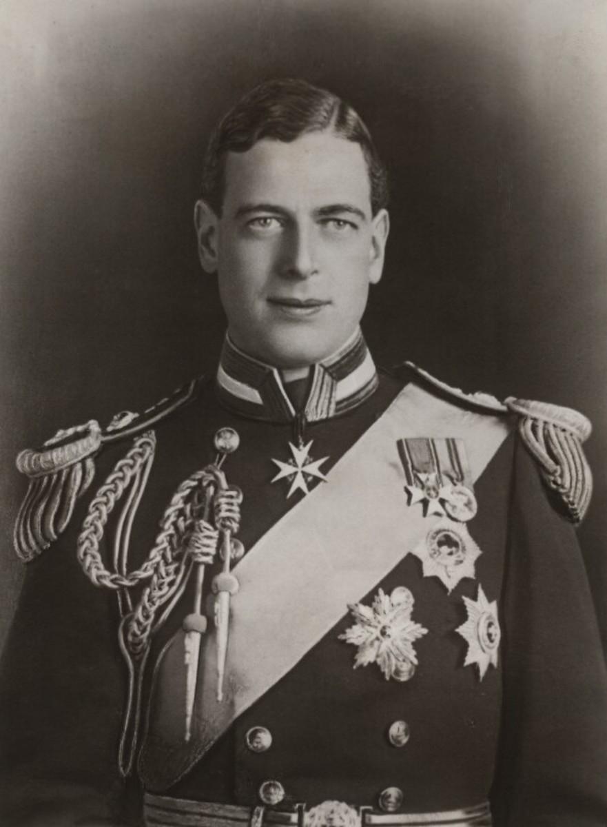 HRH Prince George, Duke of Kent.