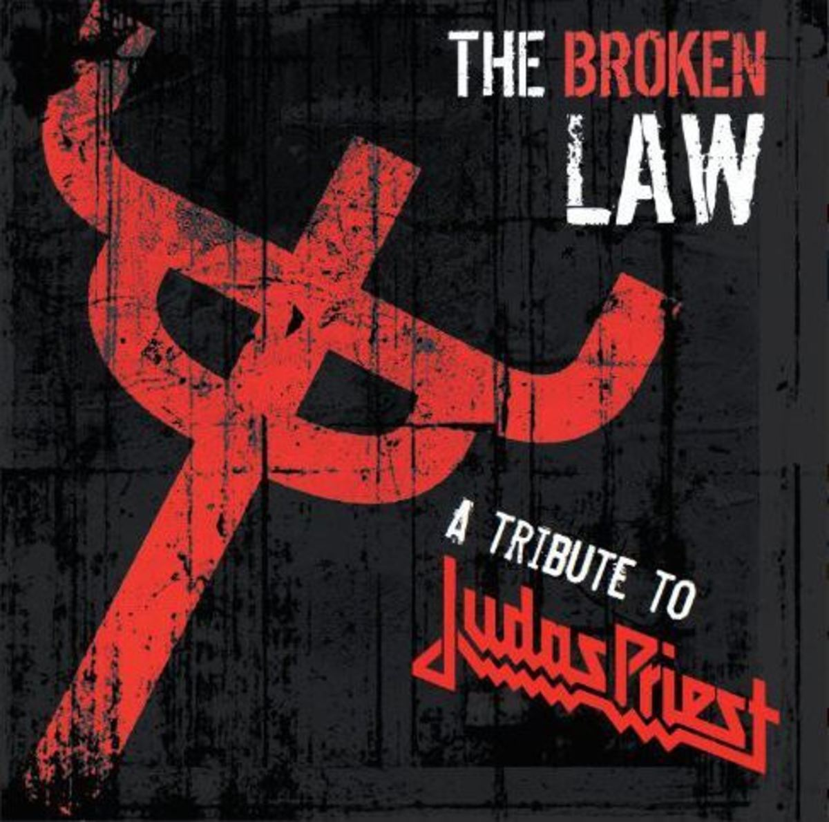 """""""The Broken Law"""" CD cover"""