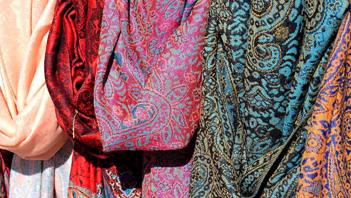 Fine lace from the island of Burano is a popular souvenir of a visit to Venice