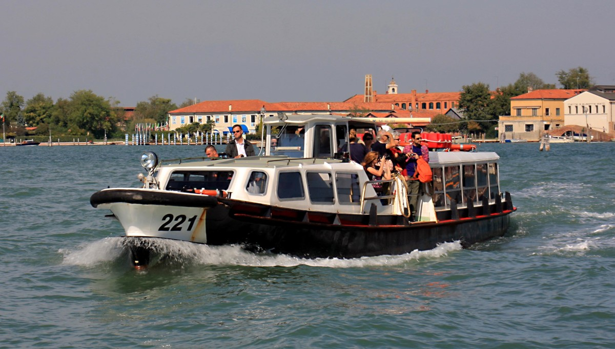 The vaporetto water bus - the lifeblood of Venice and the surrounding islands