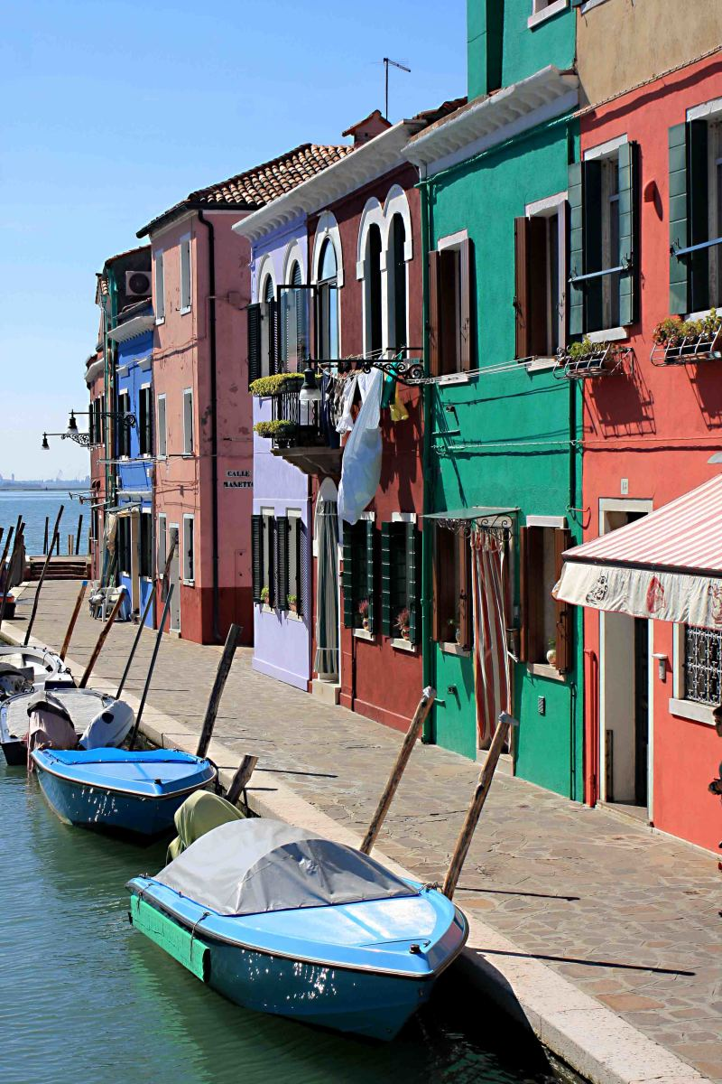 The island of Burano