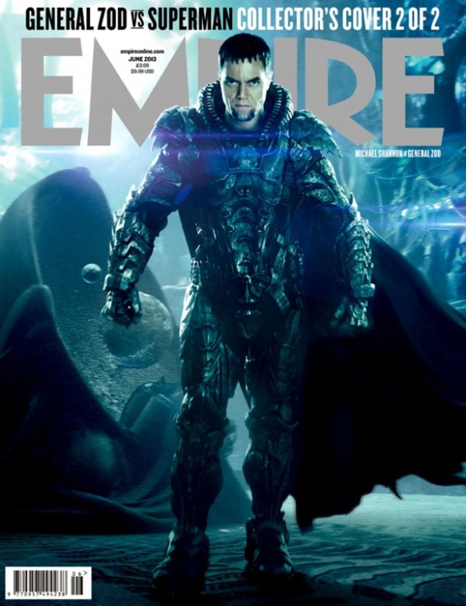 Michael Shannon as Zod in Man of Steel