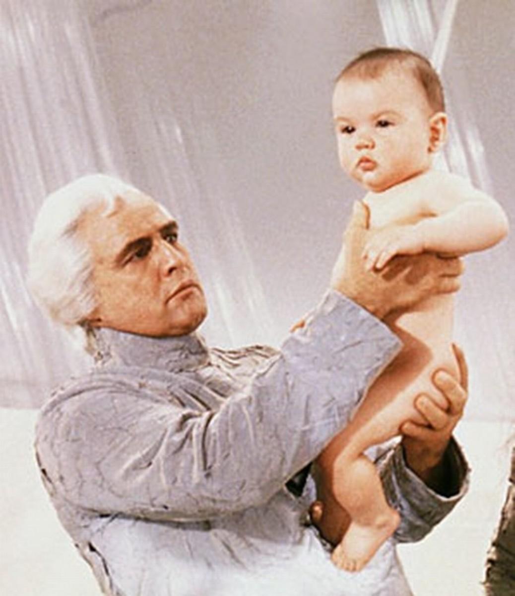 Marlon Brando in Superman the Movie (1978)