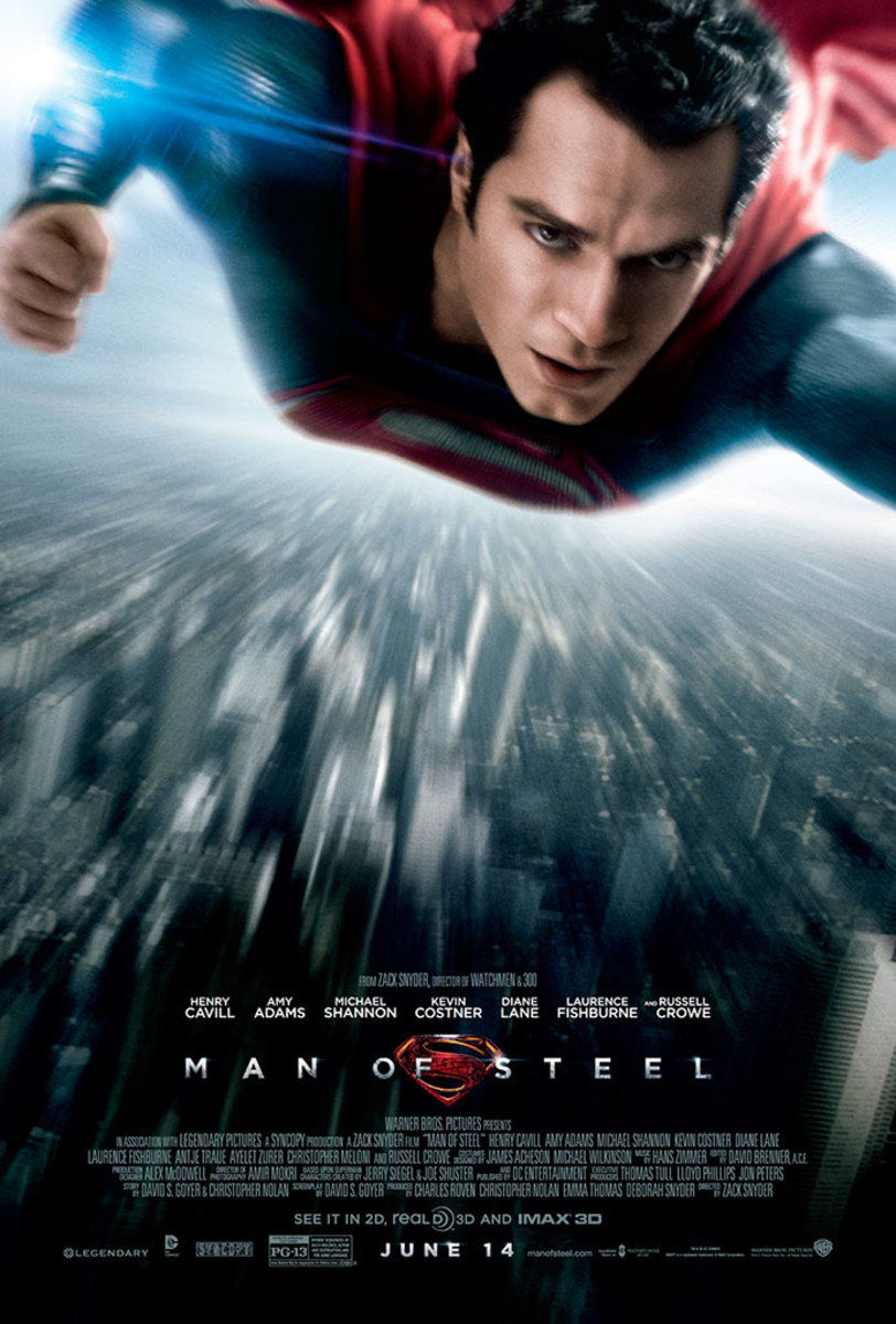 Man of Steel (2013) poster