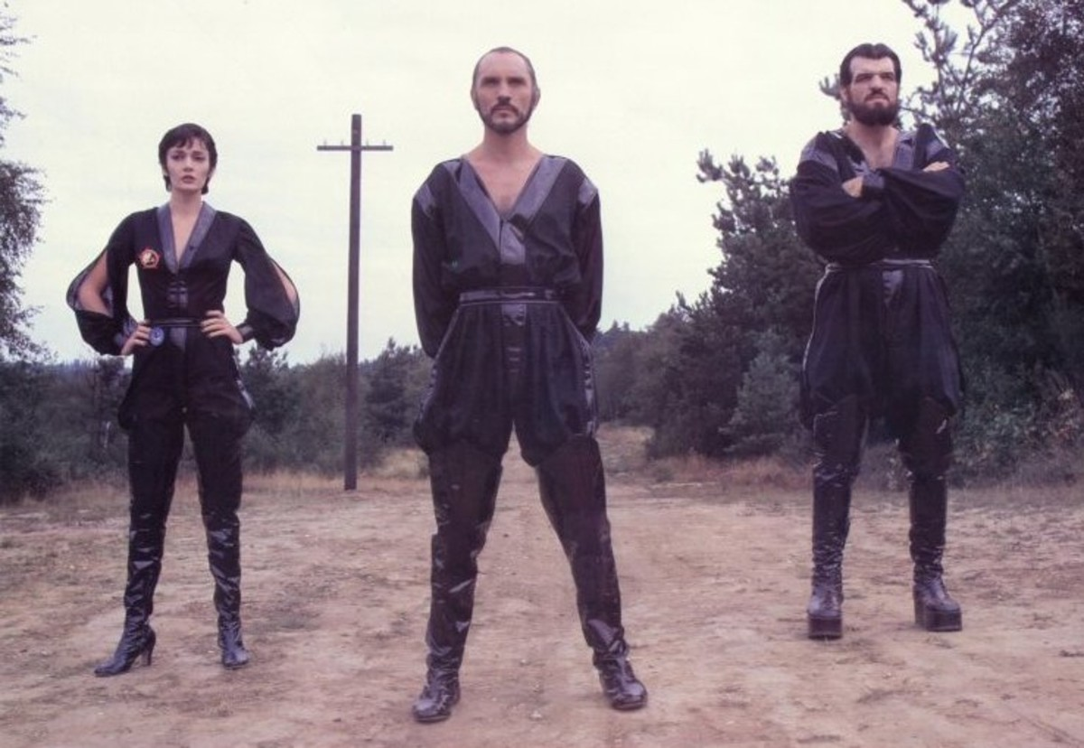 Sarah Douglas, Terence Stamp and Jack O'Halloran in Superman II (1980)