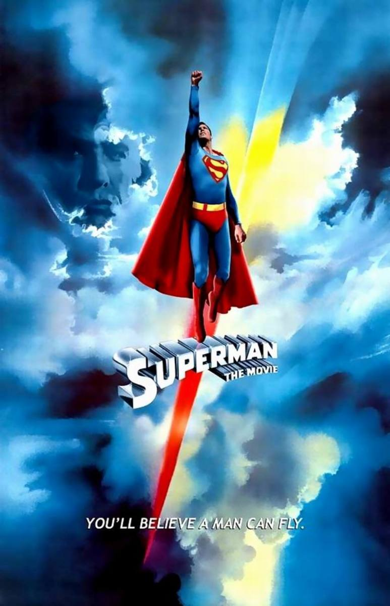 Superman the Movie (1978) poster