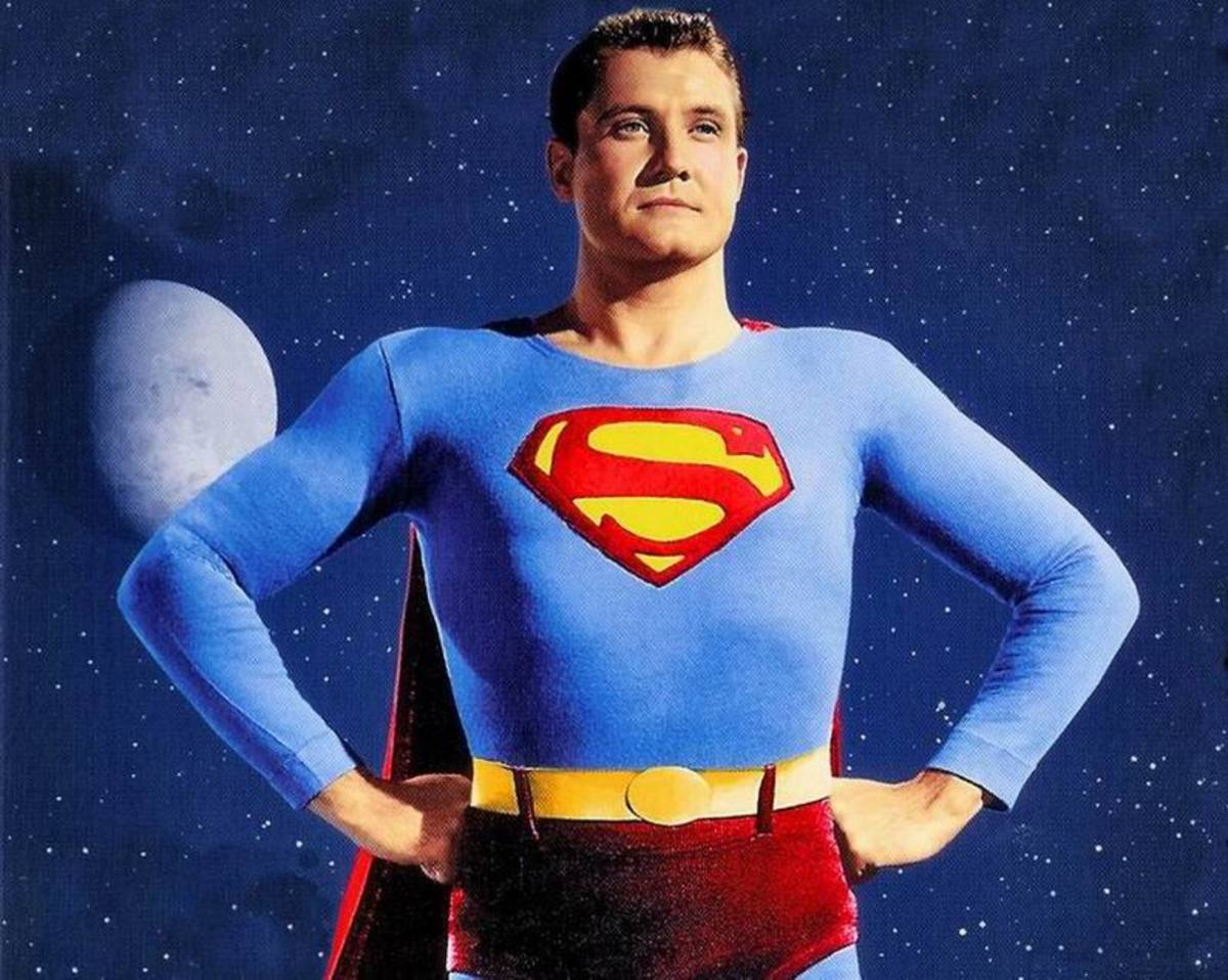 George Reeves in The Adventures of Superman (1952)