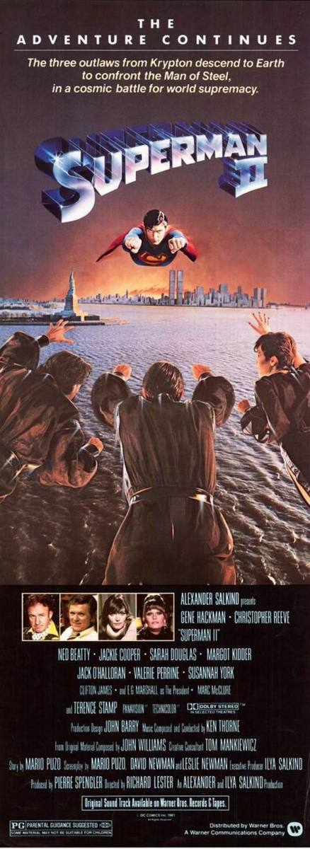 Superman II (1980) poster