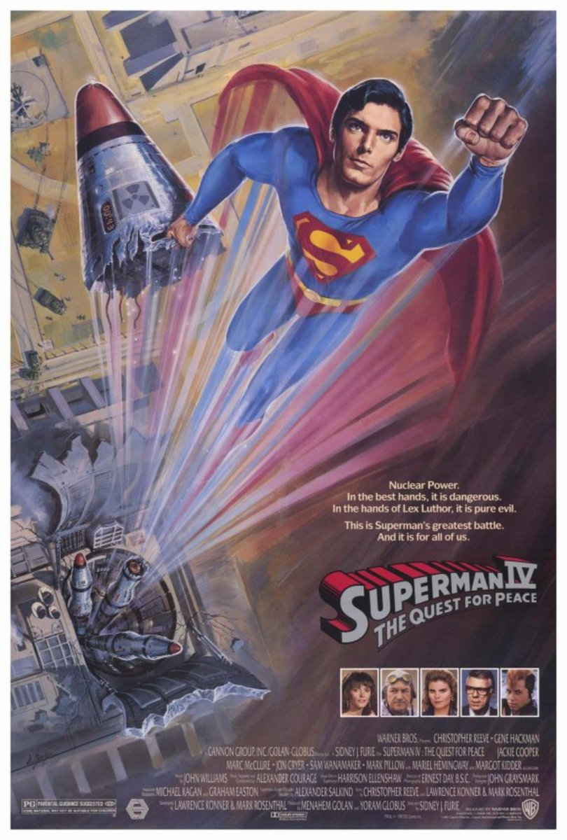 Superman IV (1987) poster