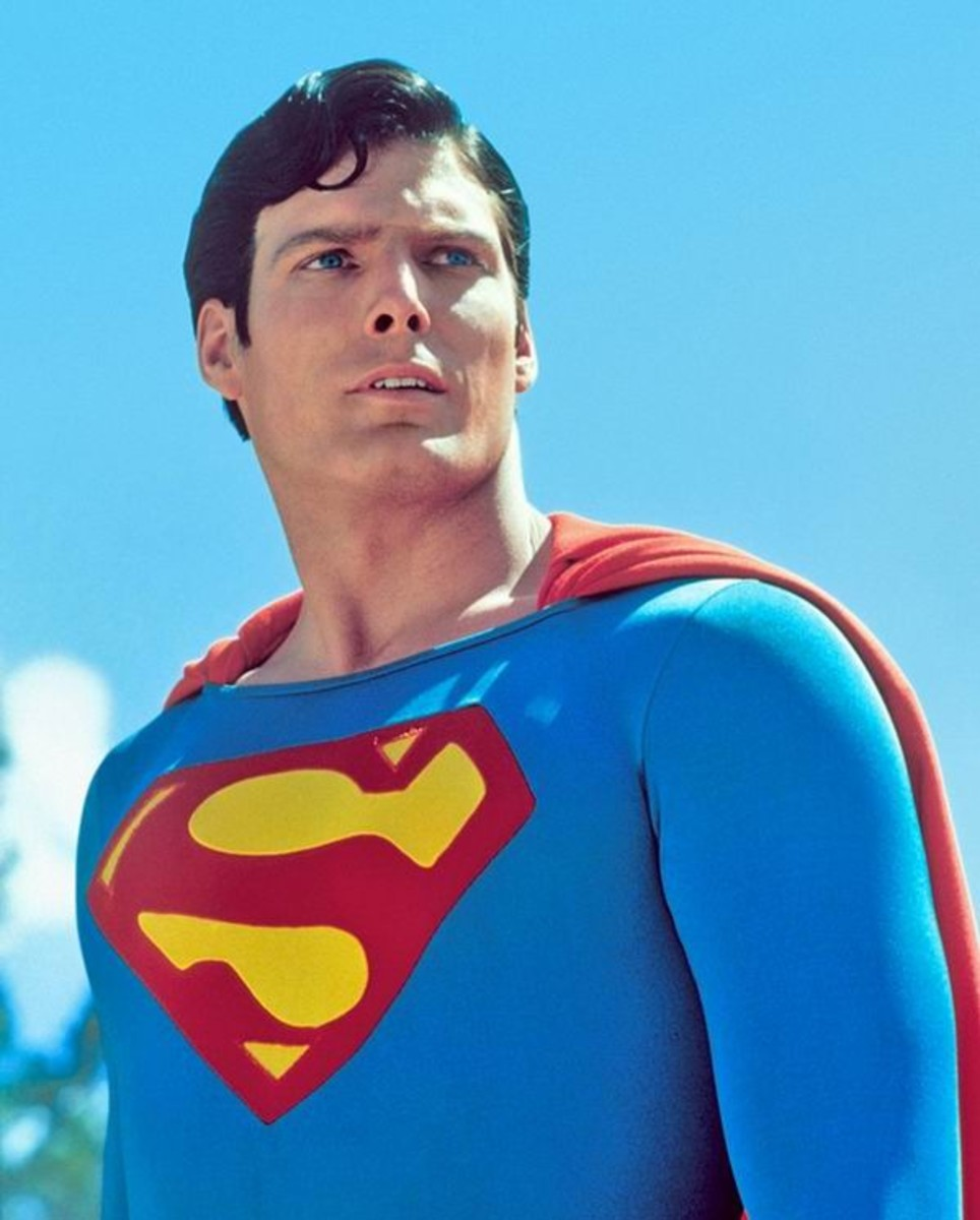 Christopher Reeve as Superman