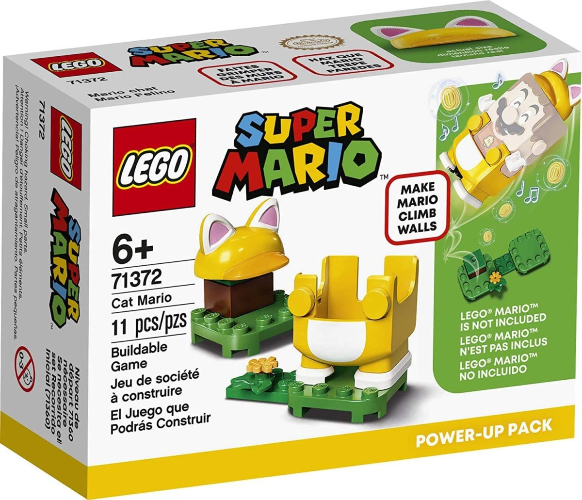 LEGO Super Mario Cat Mario Power-Up Pack 71372 Box
