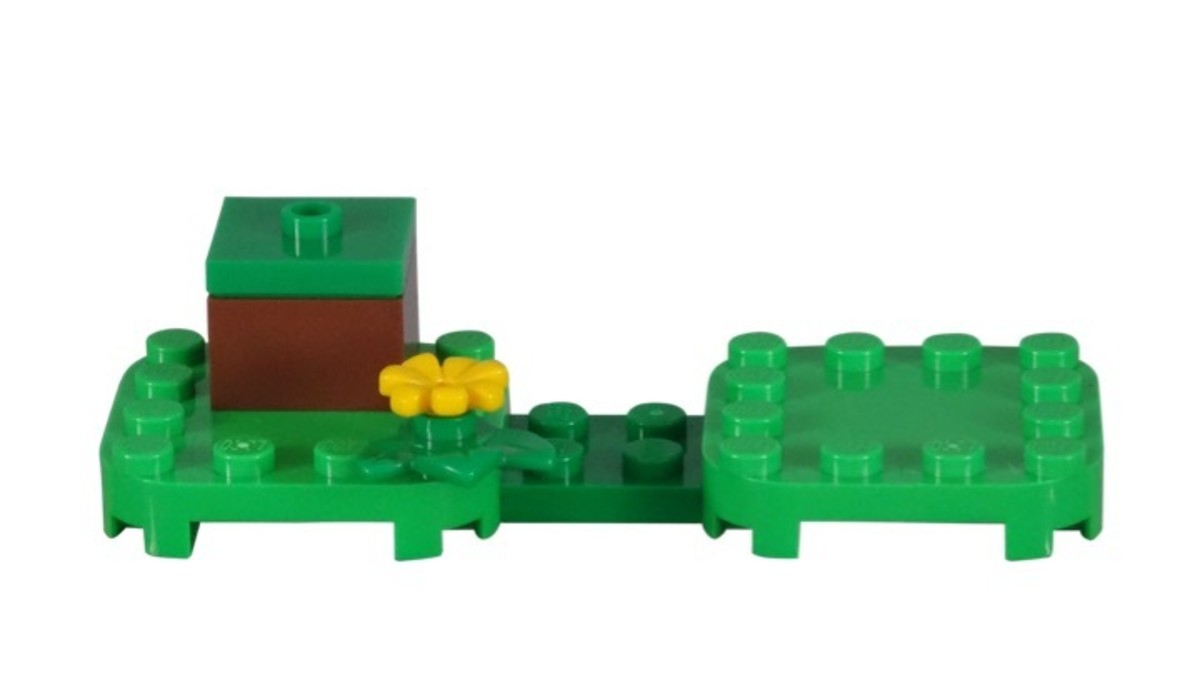 LEGO Super Mario Cat Mario Power-Up Pack 71372 Display Stand