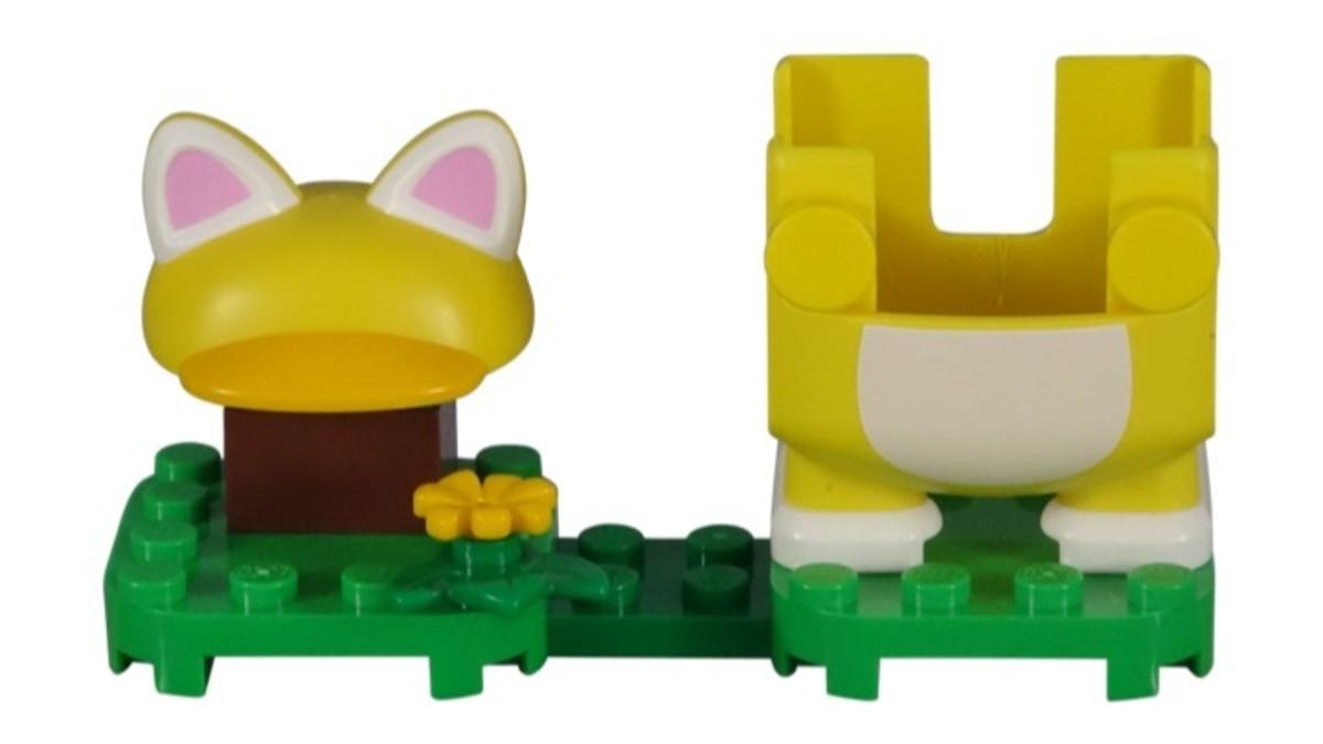 LEGO Super Mario Cat Mario Power-Up Pack 71372 Complete Set Built