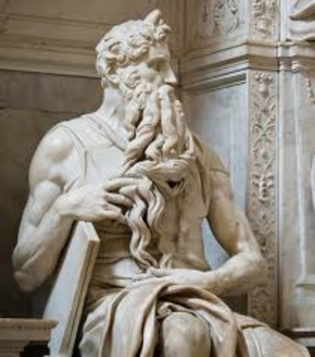 It is said that when Michelangelo finished this statue, he said why don't you speak? Because his statue was so lifelike. Now today we are talking about the creation of Adam from dust and my observation is that only God might make a statue speak