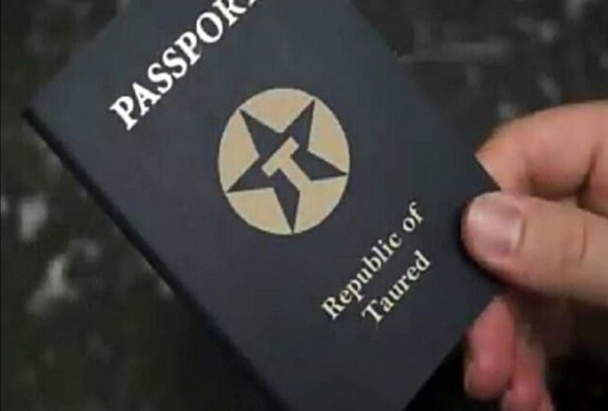 The passport of the man looked authentic, but it was issued by a country called Taured. The officers were perplexed because they had never heard about any such country.