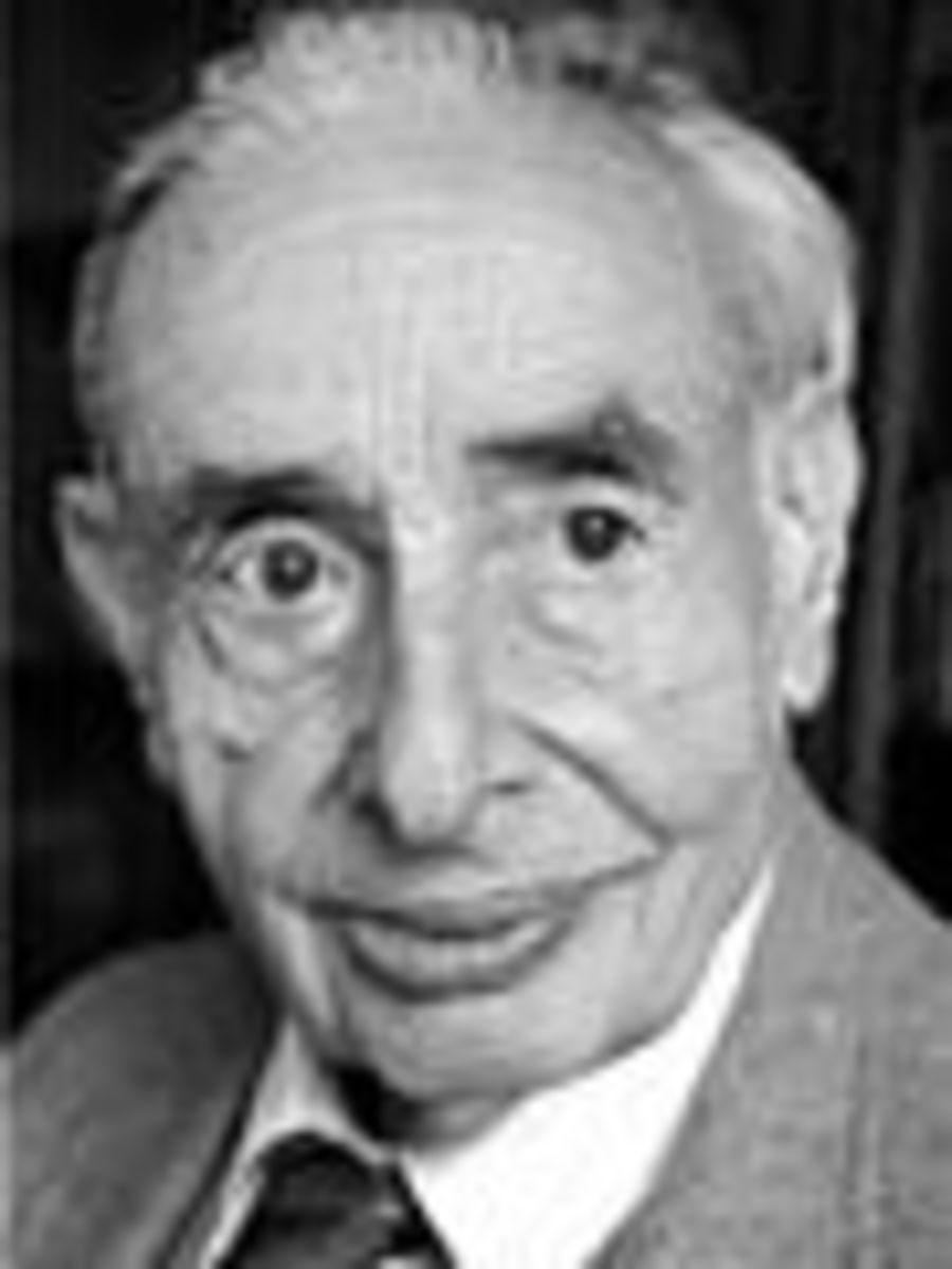 Walter M. Elsasser.  Image courtesy Wikipedia.
