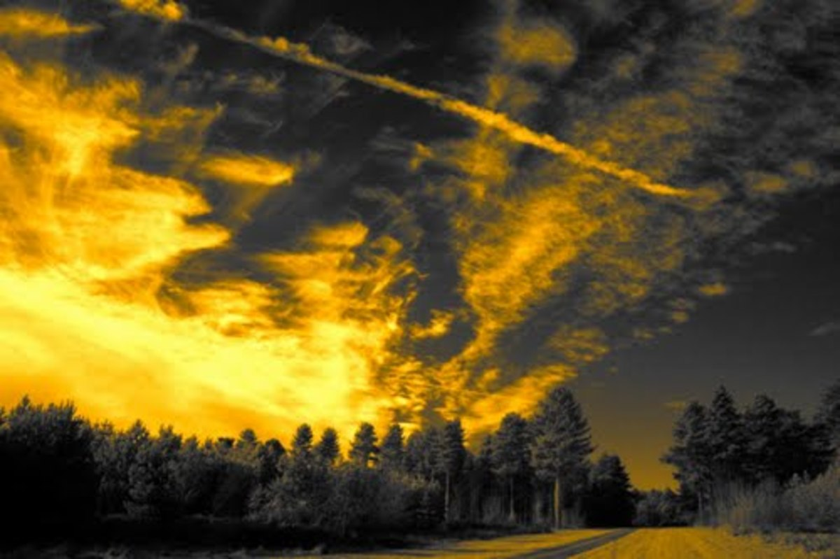 """Infrared Sky,"" by Heath Brown.  Image courtesy Heath Brown and Panoramio."