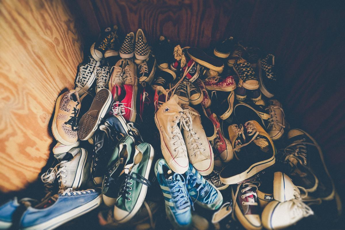 Can you ever have too many shoes? On a cruise the answer is YES!