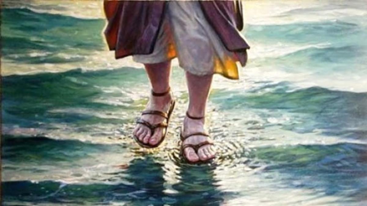 Water walking faith
