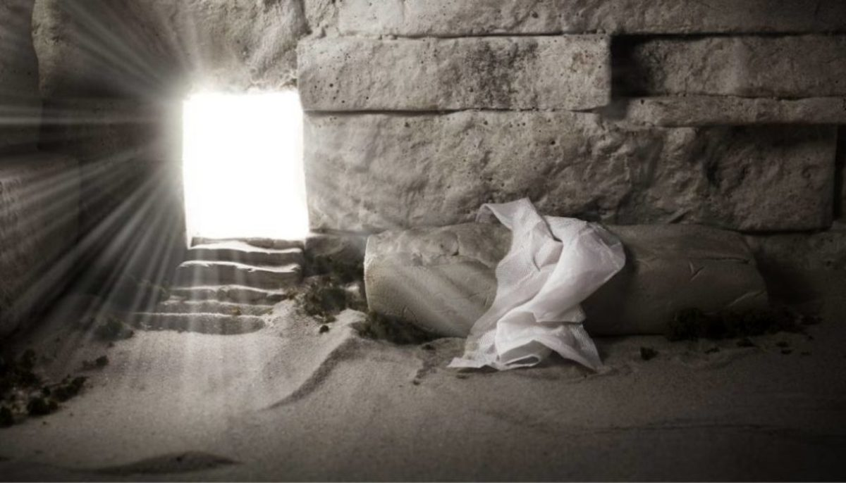 We walk by faith in the empty tomb