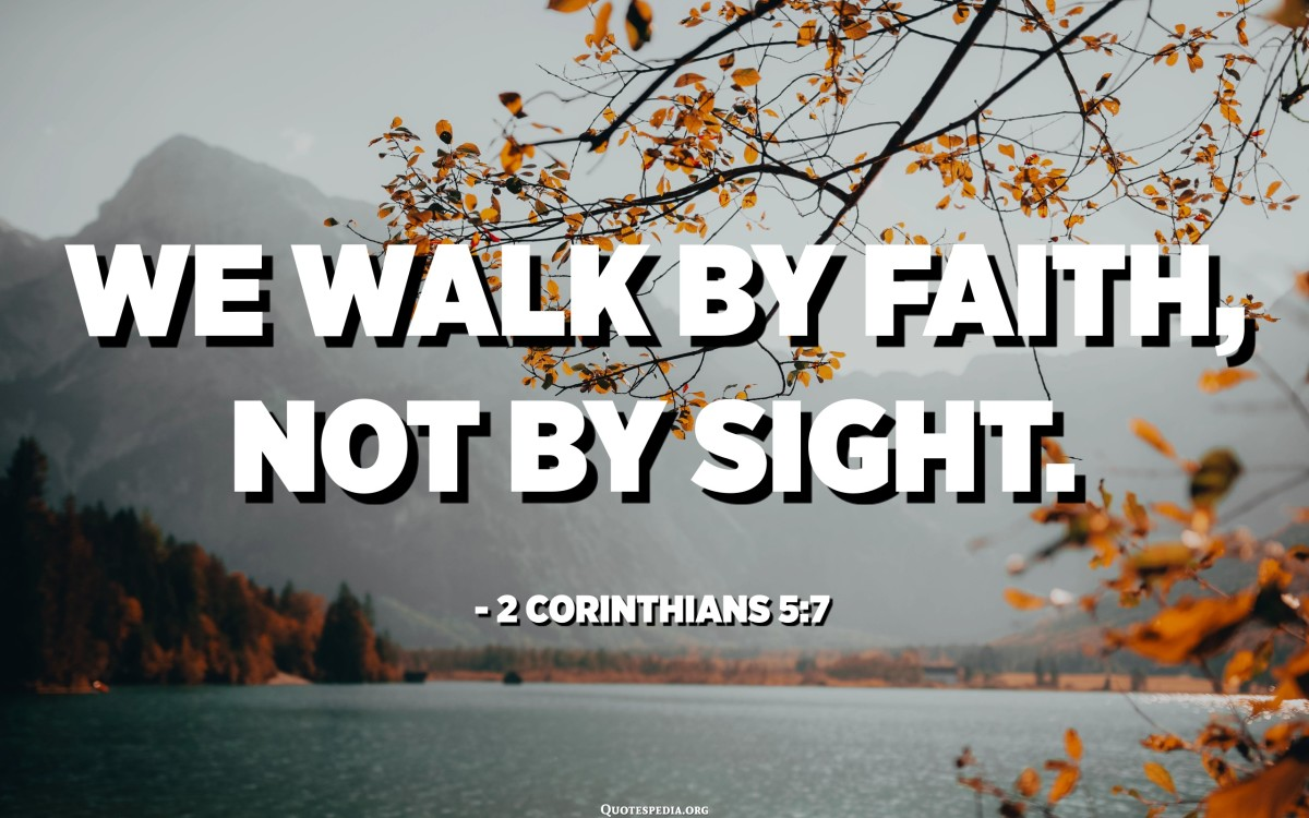 Our Faith looks up to Jesus