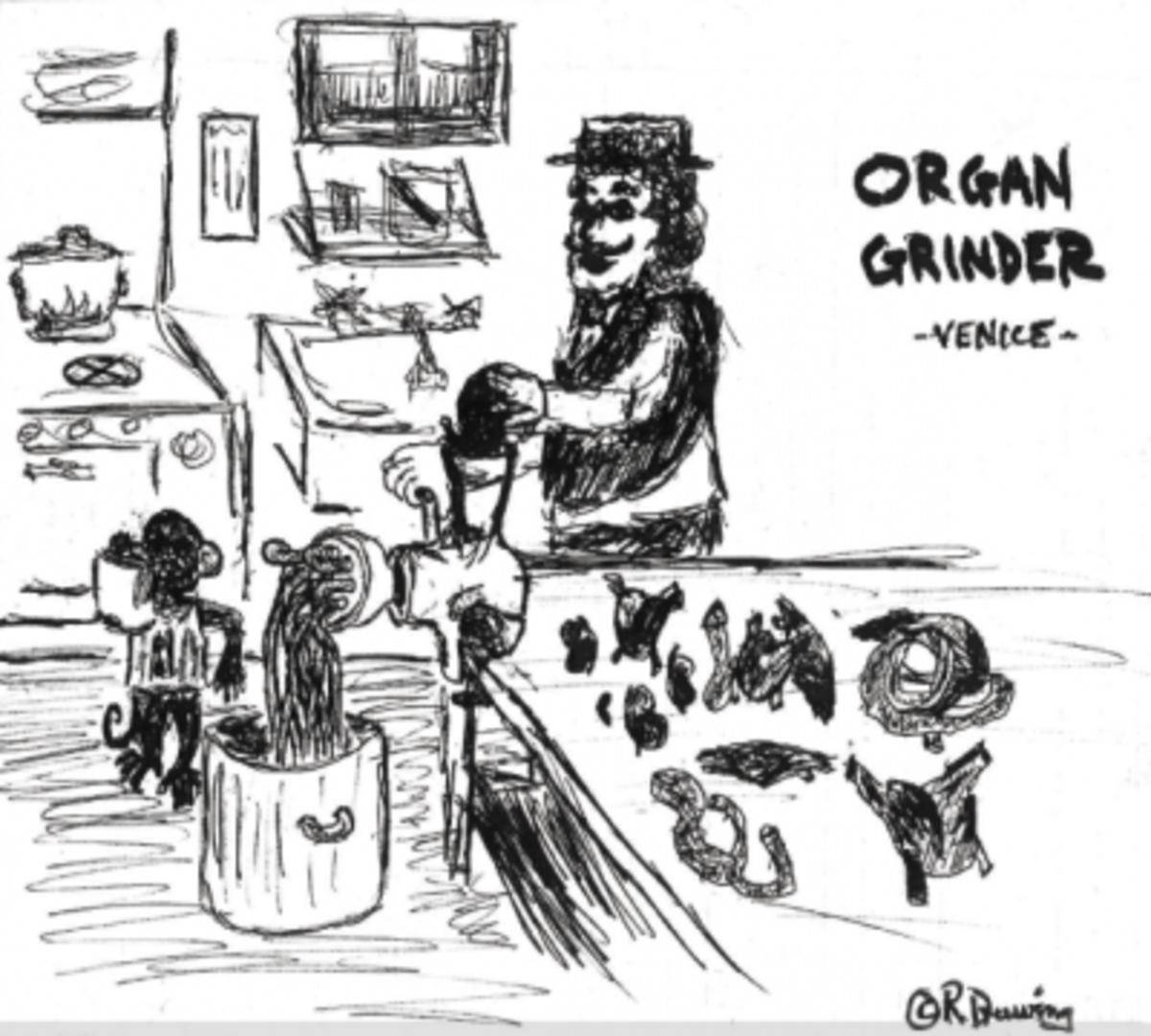 ORGAN GRINDER - Venice