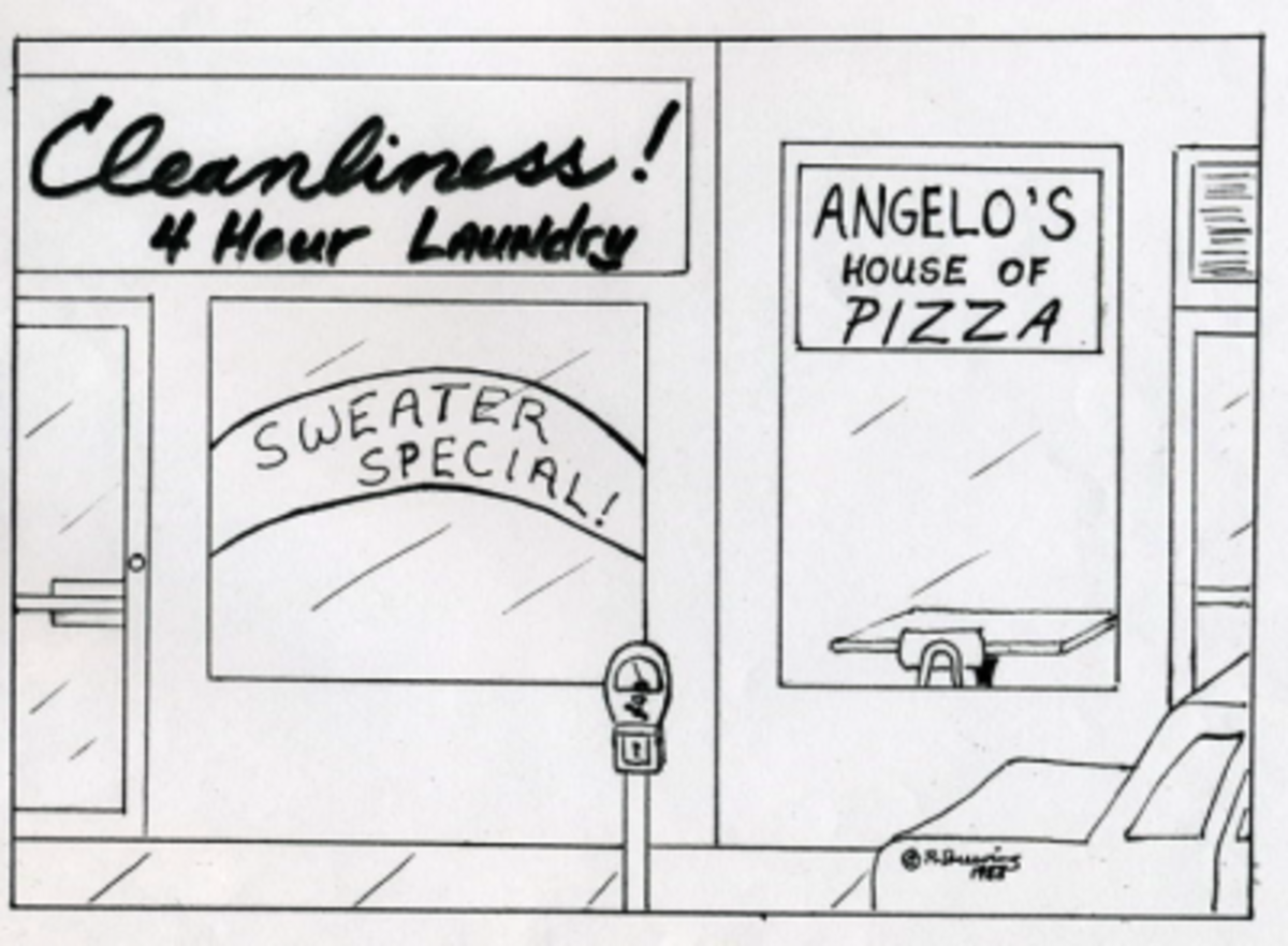 Cleanliness Is Next To Angelo's