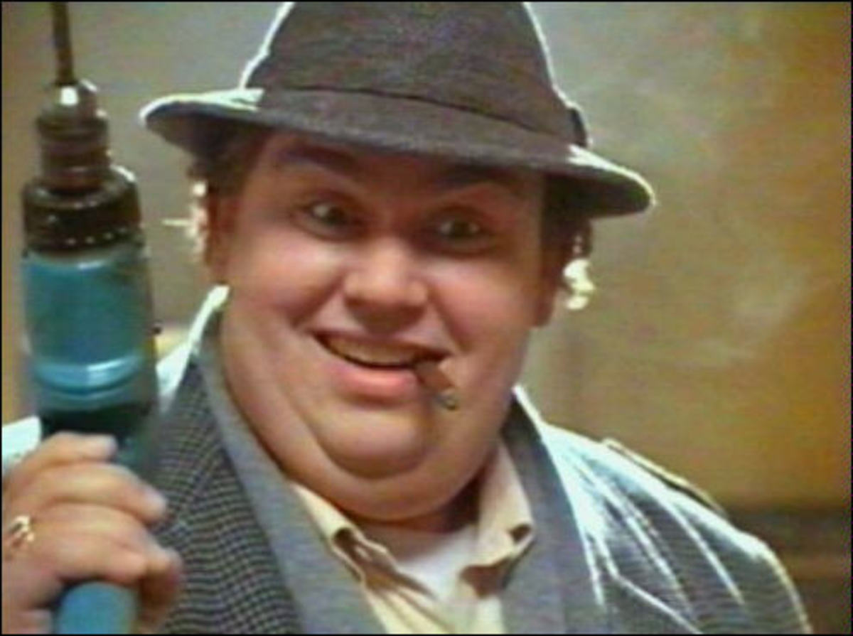 John Candy as Uncle Buck