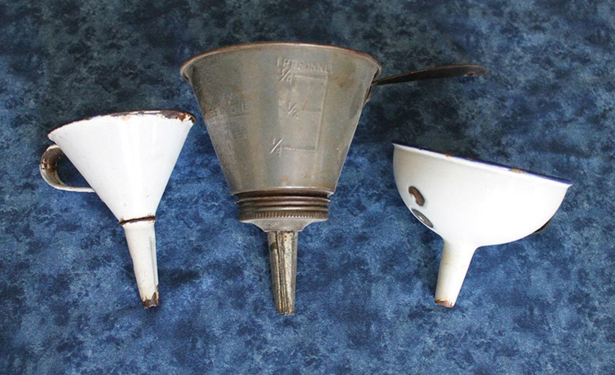 Vintage funnels