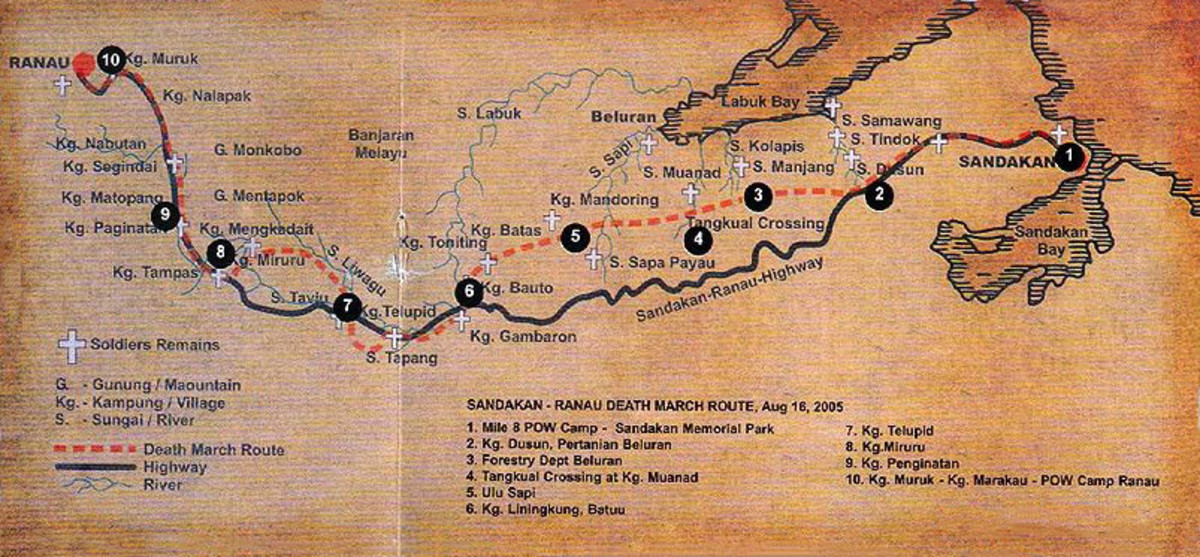 Sandakan Death March trail