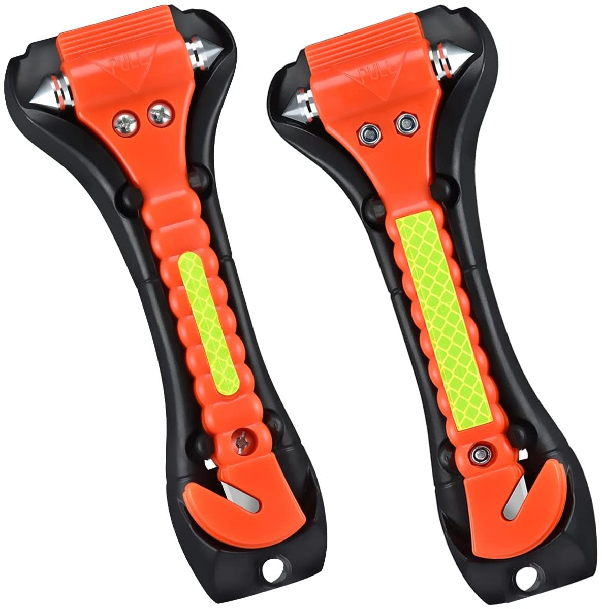 The VT Safety Hammer, Emergency Escape Tool with Car Window Breaker and Seat Belt Cutter