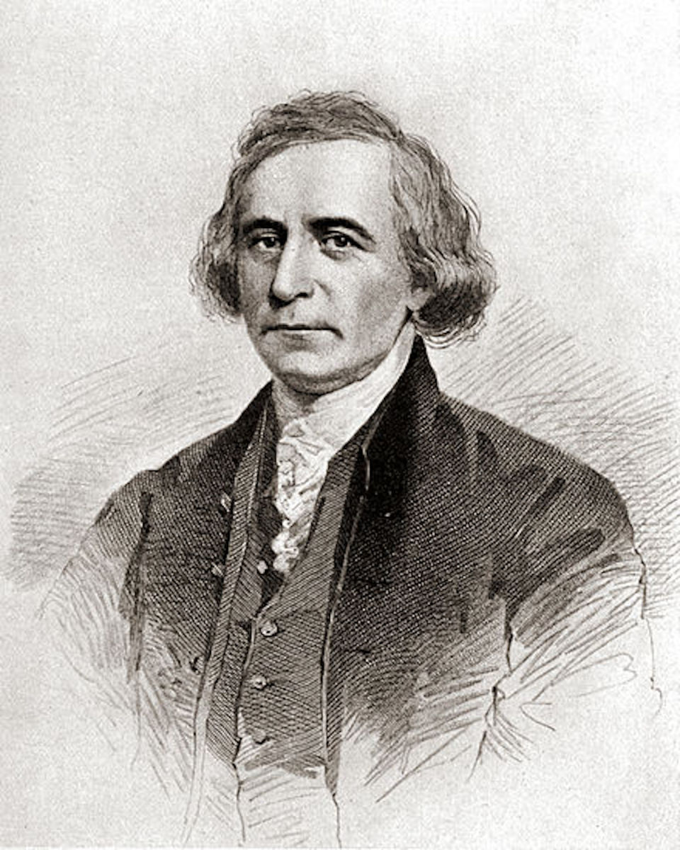 Philip Freneau  - Engraving by Frederick Halpin.  This engraving appears to provide the only extant image of the poet.