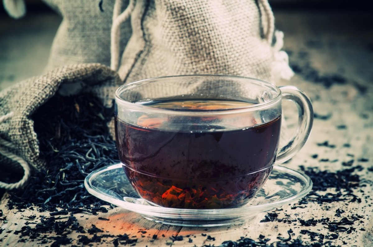 Eliminate bad breathe with black tea.